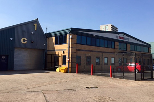 Unit C and Offices, Manders Industrial Estate, Old Heath Road, Wolverhampton, WV1 2RP