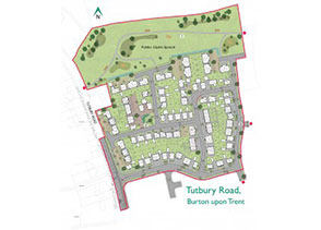 residential development east stafforshire