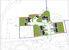 Residential development site for sale in the sought after area of Tettenhall, Wolverhampton